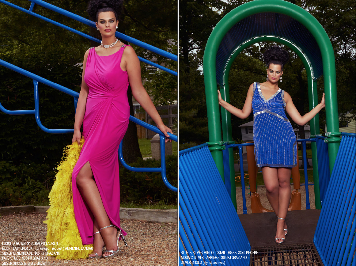 Plus Model Magazine - Bold and Bright