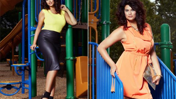 Plus Model Magazine – Bold and Bright