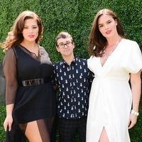 Ashley Graham, Christian Siriano and Candice Huffine- EWNYC 2016, United Nations Runway presentation for Lane Byrant Collection
