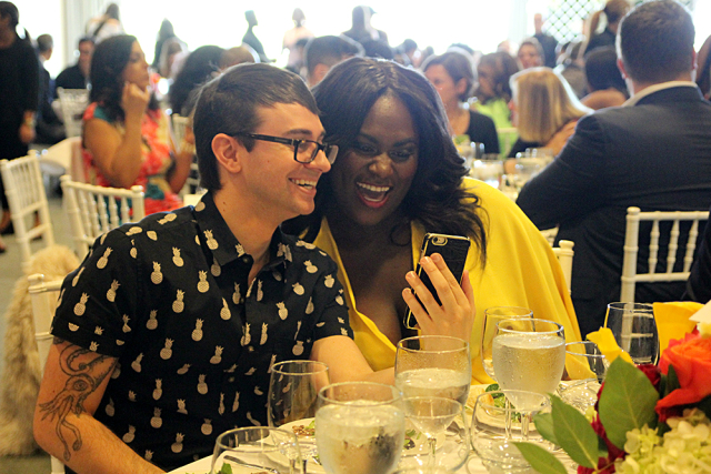 Christian Siriano & Danielle Brooks