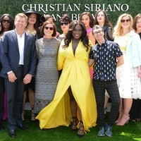 David Jaffe, Linda Heasley, Danielle Brooks, Christian Siriano with Brian Beitler and models from the Lane Bryant Runway Collection, EWNYC 2016