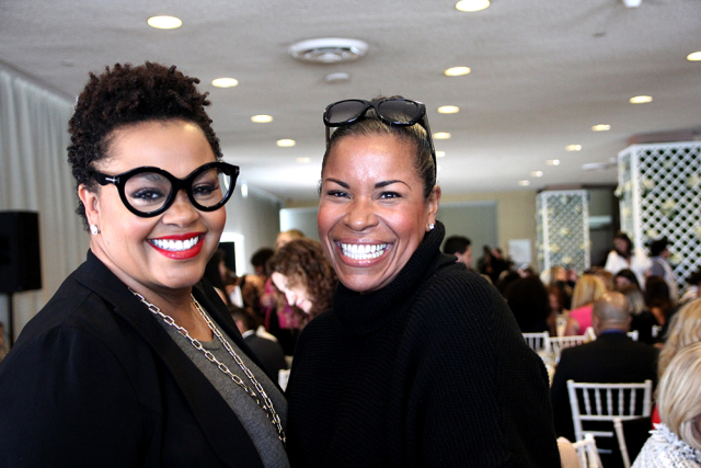 Jill Scott with Nicole Brewer
