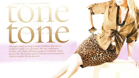 Figure Magazine – Tone On Tone