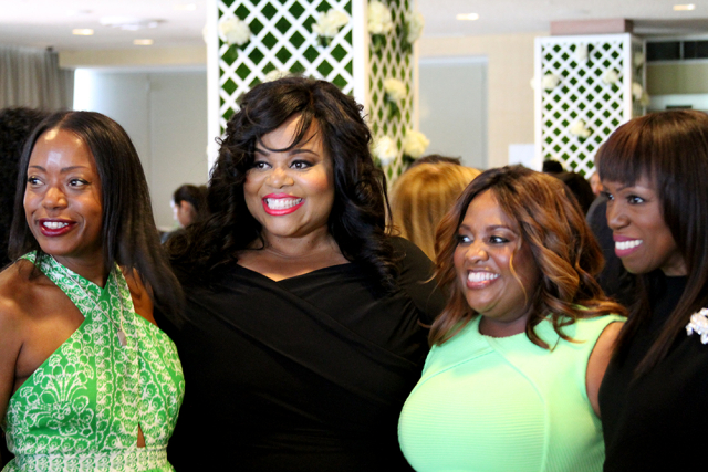 Tracy Reese, Susan Moses, Sherri Shepherd, and Mikki Taylor