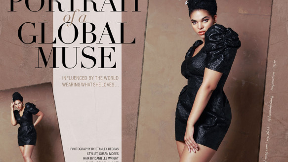 Plus Model Magazine – Portrait of a Global Muse